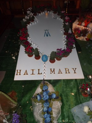 Rosary Garden in Holy Cross Church, Tramore
