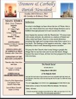 Newsletter 16 february 2014
