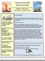 Newsletter 27 July